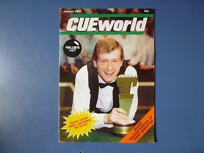 Cue World magazines January-December 1988, 12 early issues .