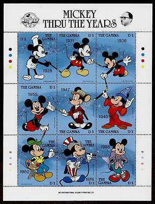 Gambia 814 MNH Disney, Mickey Mouse Birthday