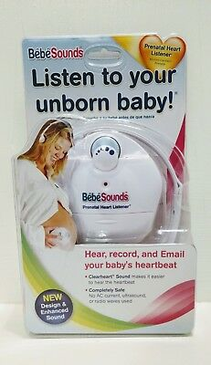 Bebe Sounds Prenatal Heart Listener With Headphones Listen To Your Baby