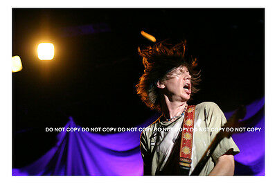 """Thurston Moore of Sonic Youth Concert Photo NYC  - 8"""" x 10"""""""