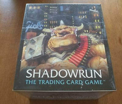 FASA Shadowrun CCG *Factory Sealed* Box of Starter Decks [A]