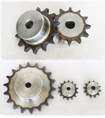 "3/8""  9/10/11/12/13/14/15/16T Chain Sprocket Pitch 9.525mm For #35 06B Chain"