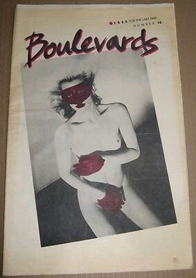 Boulevards #12 1979 Sf Arts Paper Raul Vega Cv New Wave Ginger Coyote Fat Heads
