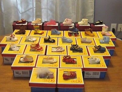 Raine Drops COMPLETE Set  of 31 Kids Children Baby Just the Right Shoes RARE +++