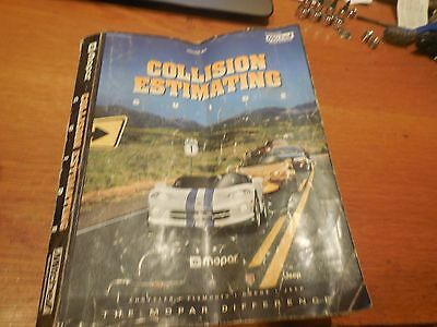 Mitchell Mopar Collision Estimating Guide Volume 99/1