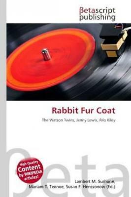 Rabbit Fur Coat  1187
