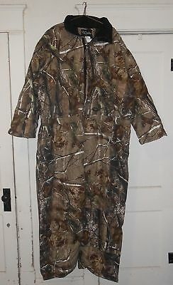 Walls Realtree Real Tree Camo Camouflage Insulated Hunting Coveralls 6x reg GUC