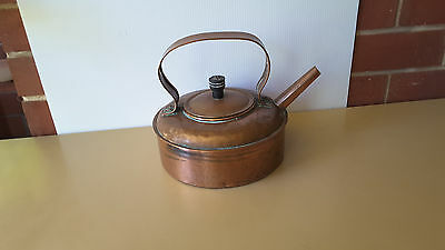 LARGE Vintage Copper Kettle COUNTRY  FARM HOUSE