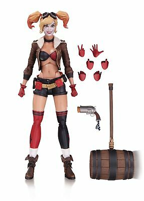 DC Collectibles Bombshells Harley Quinn Action Figure, New, Free Shipping