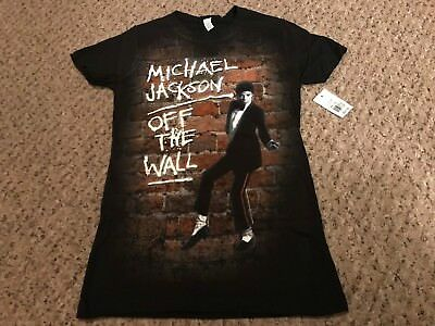 Michael Jackson Off The Wall Shirt Size Medium Womans NEW