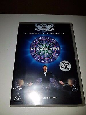 Who Wants To Be A Millionaire DVD Game In Excellent Condition