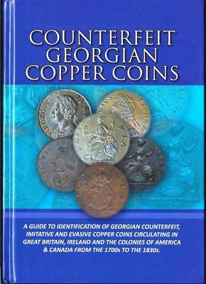 Counterfe1t Georgian Copper Coins**Imitations***Evasions***