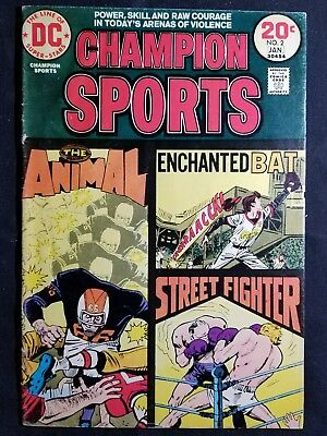 CHAMPION SPORTS #2 DC Comics 1973 20 Cent Bronze Age