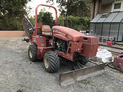 2012 Ditch Witch  RT45  hydraulic slide trencher, 6 way backfill blade, vermeer