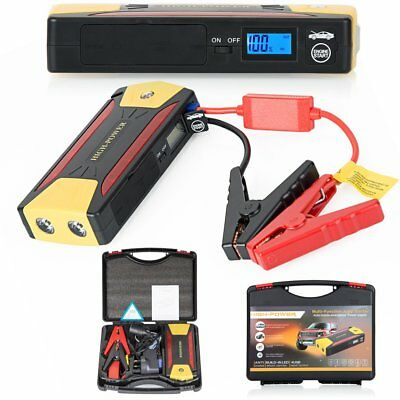 Heavy Duty 68800 mWh Portable Car Emergency Charger Jump Starter USB Power Bank