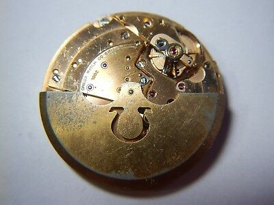 OMEGA 1002 Watch Movement Swiss Vintage 1950's Calibre 1002