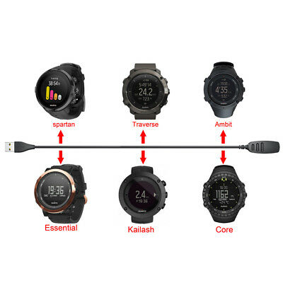 USB Cable Charging Clip Magnetic Charger Data For SUUNTO Watch