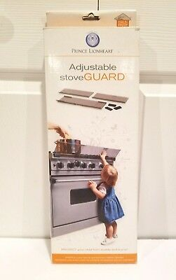 New Prince Lionheart Stove Guard Adjustable Stove Top Burn Shield FREE SHIPPING