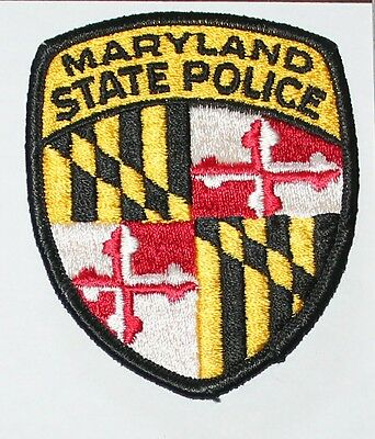 MARYLAND STATE POLICE MSP MD Troopers Highway Patrol patch