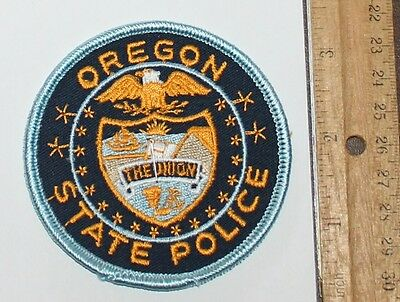 OREGON STATE POLICE OR Troopers Highway Patrol patch
