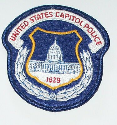 UNITED STATES CAPITOL POLICE Washington DC US Federal Agency Used Worn patch
