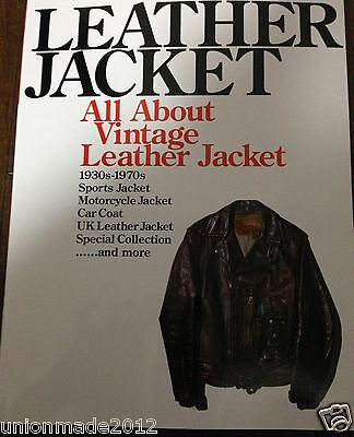 Vintage Leather Jacket Book Archives Collection 30-70's VTG Harley BUCO Motorcyc