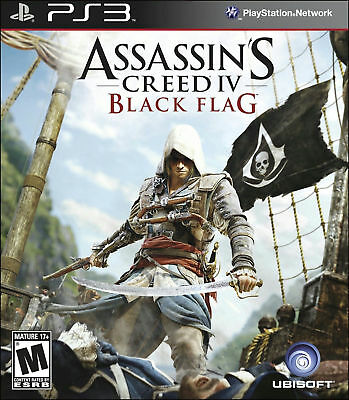 Assassins Creed IV Black Flag New and Factory Sealed PS3