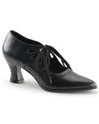 Black Victorian Womens Shoes