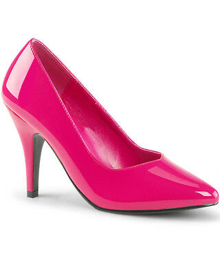 Hot Pink Patent Womens Shoes