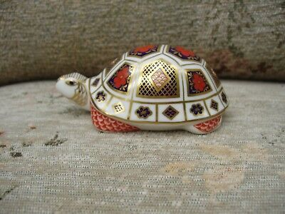 Royal Crown Derby TURTLE 1st Quality RARE CERAMIC STOPPER