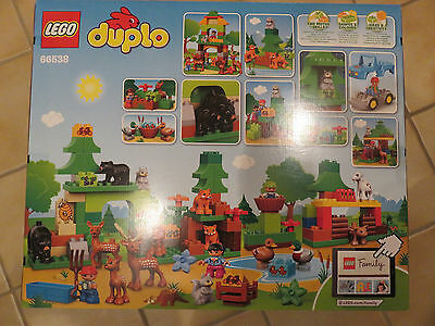 LEGO® DUPLO® 66538 Wildpark Super Pack 3-in-1 NEU /_Forest Value Pack NEW MISB