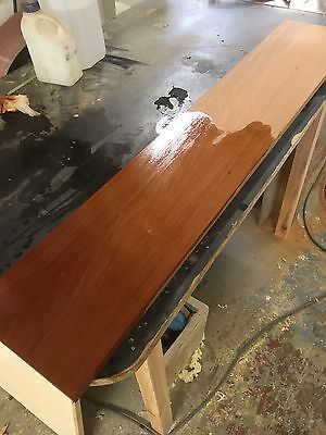 Old  Antique Victorian Mahogany Timber