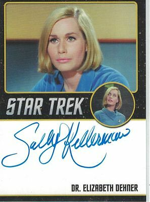 Star Trek TOS 50th Anniversary (2016) Sally Kellerman autograph