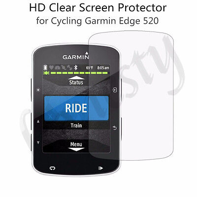 2pcs HD Clear LCD Screen Protector Cover Film for Garmin Edge 520 Cycling
