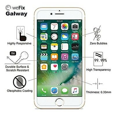 iPhone 8 Plus Premium Tempered Glass Screen Protector 9H 0.33mm 2.5D