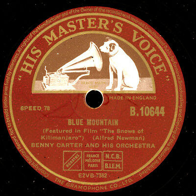 "BENNY CARTER & ORCHESTRA ""The Snow Of Kilimanjaro"" Blue Mountain -Sound-   S4672"