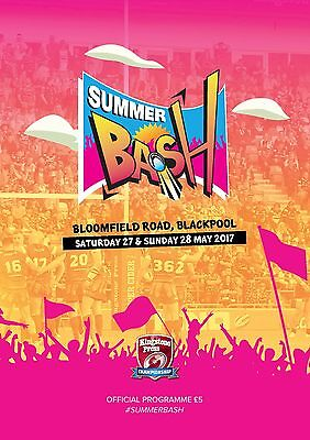 Summer Bash Official Programme 2017