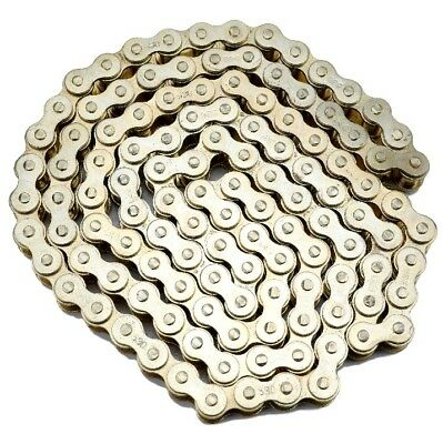 Motorcycle Drive Chain Heavy Duty 530-120 Gold for Motorcycle Dirt Pit Bike Hond