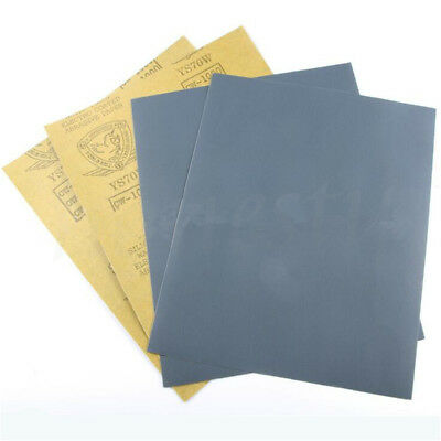 Wet and Dry Sandpaper 320 - 3000# Grit Starcke Abrasive Waterproof Paper Sheets