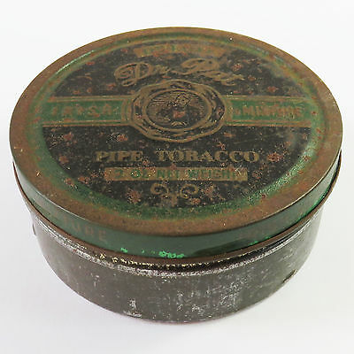 Vintage Dr Pat Deluxe Irish Mixture Pipe Tobacco Tin
