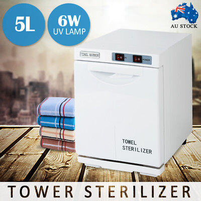 UV TOWEL STERILIZER Warmer Cabinet Disinfection Heater Hot Hotel Salon Spa 5L