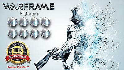 Warframe 500 Platinum as a Gift + Consultations (PC)