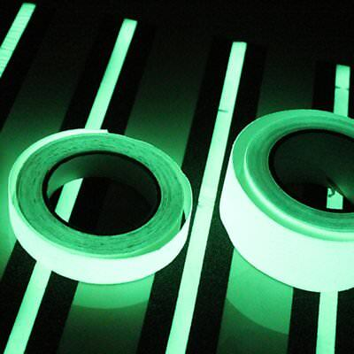 1M Luminous Tape Self-adhesive Glow In The Dark Safety Stage Home Decorations