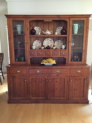 Sideboard and Hutch