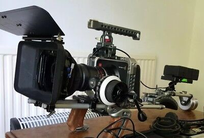 Tilta rig - for blackmagic production and cinema camera
