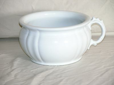 Alfred Meakin Royal Ironstone Chamber Pot  Made In England 1881-97