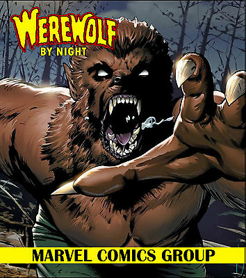 Werewolf by Night Complete Comic Collection DVD