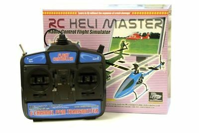 RC Heli Master Flight Simulator with Mode 2 Transmitter brand new