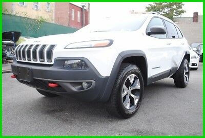 2015 Jeep Cherokee Trailhawk 2015 Trailhawk Used 2.4L I4 16V Automatic 4WD SUV