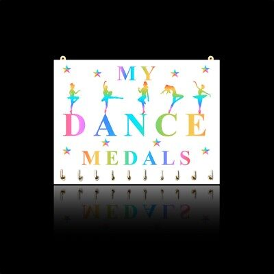 Dance Medal Hangers, Displays & Plaques - Male & Female